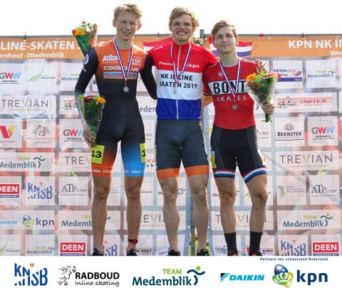 Rick Schipper Nederlands Kampioen op de 1000m