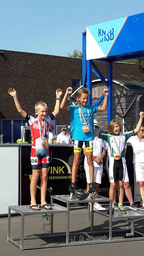 Kampioen Jarne Feenstra