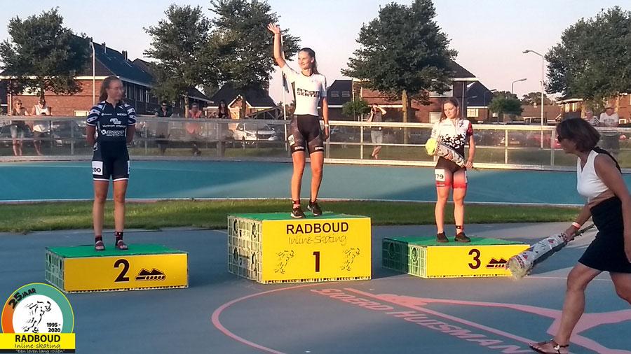 Bente Kerkhoff wint de 1000m