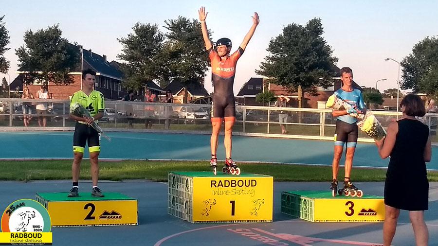 Rick Schipper wint wederom de 1000m op de baan in Wervershoof