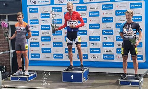 Bas Meijer brons op de One-lap