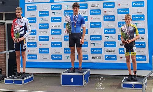 Tim Kee brons op de One-lap